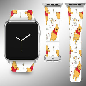 Winnie the Pooh Apple Watch Band 38 40 42 44 mm Disney 5 1 2 3 4 Wrist Strap 1