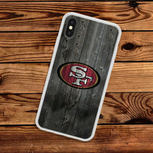 Load image into Gallery viewer, Rubber bumper case San Francisco 49ers for iphone X XS Max XR 8 7 6 5 plus cover