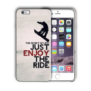 Extreme Sports Snowboarding Iphone 4 4s 5 5s 5c SE 6 6s 7 + Plus Case Cover 04