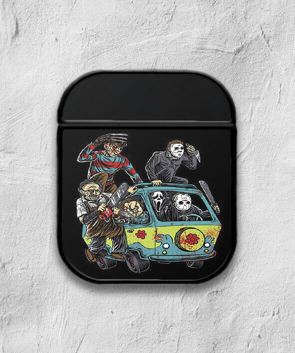 Halloween Horror case for AirPods 1 or 2 protective cover skin