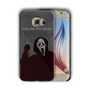 Halloween Scream Mask Samsung Galaxy S4 5 6 7 8 Edge Note 3 4 5 8 + Plus Case 11