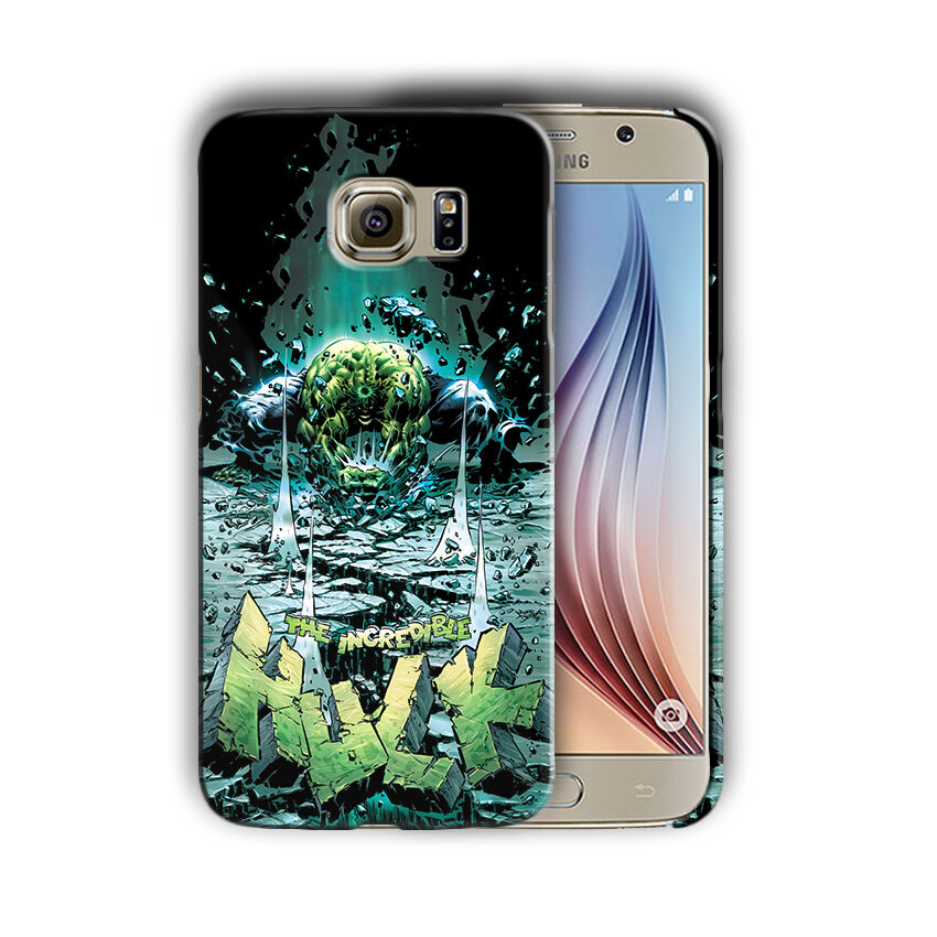 Super Hero Hulk Samsung Galaxy S4 5 6 7 8 9 10 E Edge Note 3 - 10 Plus Case n8