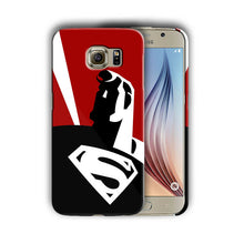 Load image into Gallery viewer, Super Hero Superman Samsung Galaxy S4 5 6 7 8 9 10 E Edge Note Plus Case n12