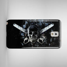 Load image into Gallery viewer, Halloween Skull Texas Chainsaw Samsung Galaxy S4 S5 S6 Edge Note 3 4 Case Cover
