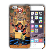 Load image into Gallery viewer, Super Hero Deadpool Iphone 4 4s 5 5s 5c SE 6 6s 7 8 X XS Max XR Plus Case n4