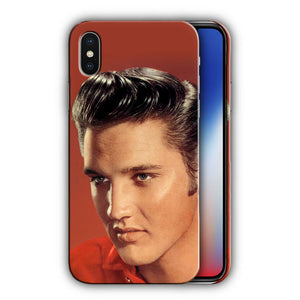 Elvis Presley Singer The King iPhone 5 6S 7 8 X XS Max XR 11 12 Pro Plus Case n3