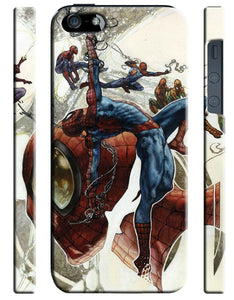Iphone 4s 5s 5c SE 6 6S 7 8 X Plus Cover Case Amazing Spider-Man Hero Comics 16