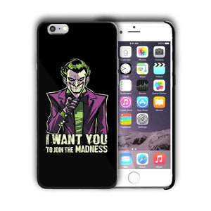 Super Villain Joker Iphone 4s 5 5s 5c SE 6 7 8 X XS Max XR 11 Pro Plus Case nn10