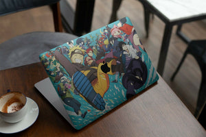 Anime Naruto Characters MacBook case for Mac Air Pro M1 13 16 Cover Skin SN144