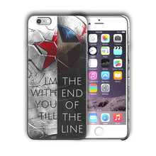 Load image into Gallery viewer, Super Hero Captain America Iphone 4s 5 5s 5c SE 6s 7 8 X XS Max XR Plus Case n7