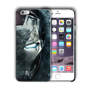 Super Hero Iron Man Iphone 4 4s 5 5s SE 6 6s 7 8 X XS Max XR 11 Pro Plus Case n5