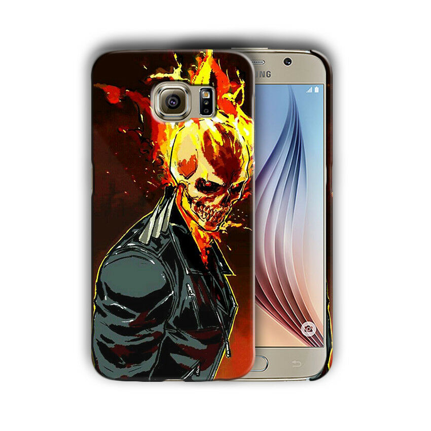 Super Hero Ghost Rider Iphone 4s 5 5s SE 6 7 8 X XS Max XR 11 Pro Plus Case n11