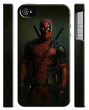 Load image into Gallery viewer, Iphone 4s 5 5s 5c 6 6S 7 8 X Plus Hard Cover Case Deadpool Hero Comics Kids ip7