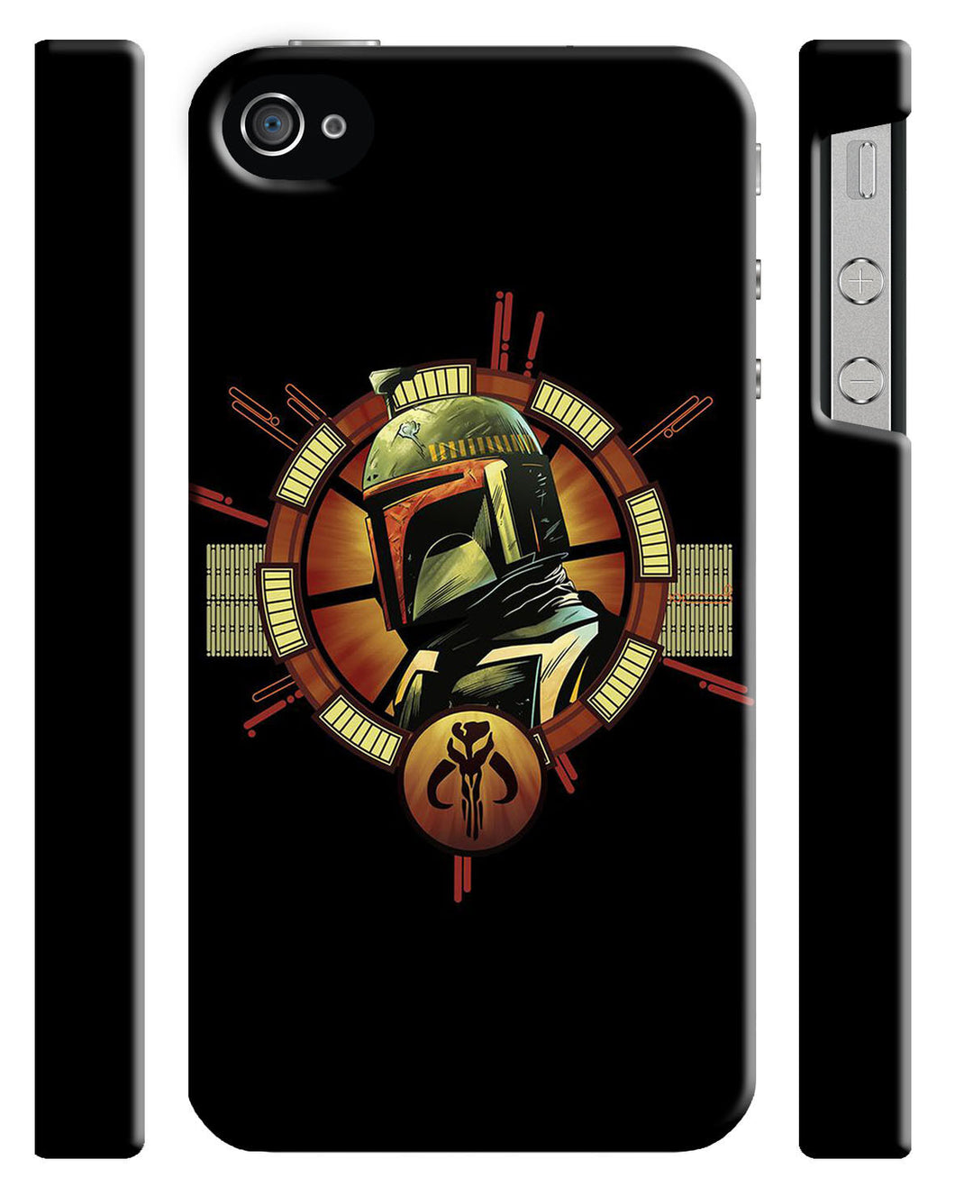 Star Wars 2015 Boba Fett Logo Iphone 4 4s 5 5s 5c 6 6S + Plus Case Cover 130