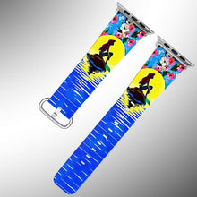 Load image into Gallery viewer, Little Mermaid Apple Watch Band 38 40 42 44 mm Series 5 1 2 3 4 Wrist Strap