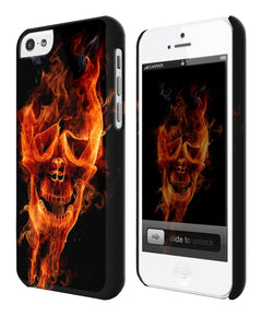 Halloween Skull Evil Horror Iphone 4s 5s 5c 6 6S 7 8 X XS Max XR Plus Case ip4