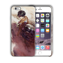 Load image into Gallery viewer, Attack on Titan Levi Ackerman Iphone 4s 5s 5c SE 6s 7 8 X XS Max XR Plus Case 05