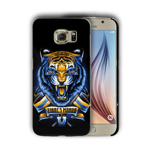 Tigres UANL Samsung Galaxy S4 5 6 7 8 9 10 E Edge Note 3 4 5 8 9 10 Plus Case 02