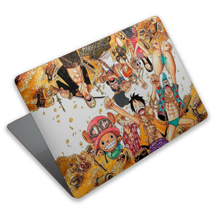 Anime One Piece MacBook case for Mac Air Pro M1 13 16 Cover Skin SN170