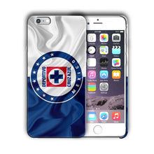 Load image into Gallery viewer, Cruz Azul FC Iphone 4S 5s 6S 7 8 X XS Max XR 11 Pro Plus SE Case Cover Logo 03