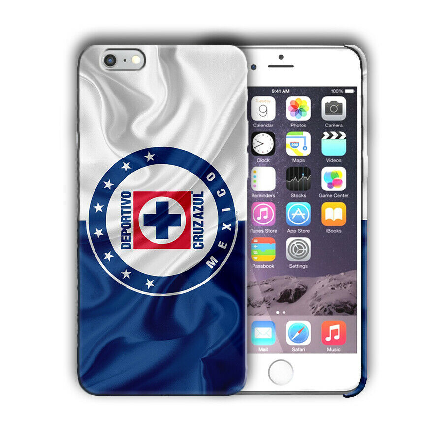 Cruz Azul FC Iphone 4S 5s 6S 7 8 X XS Max XR 11 Pro Plus SE Case Cover Logo 03