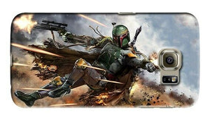 Star Wars Boba Fett Samsung Galaxy S4 S5 S6 7 8 Edge Note 3 4 5 8 + Plus Case 24