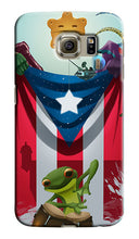 Load image into Gallery viewer, Puerto Rico Flag Samsung Galaxy S4 5 6 7 8 9 10 E Edge Note 3 - 9 Plus Case 3