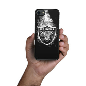 Oakland Raiders case for iphone XR X XS Max 7 8 plus 5 6 silicone cover