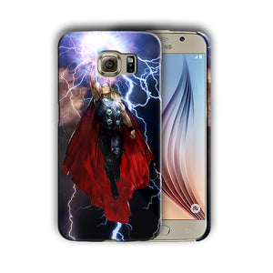 Super Hero Thor Samsung Galaxy S4 5 6 7 8 9 10 E Edge Note 3 - 10 Plus Case n2