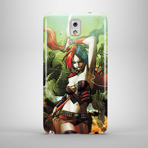 Harley Quinn Samsung Galaxy S4 S5 S6 S7 S8 Edge Note 3 4 5 + Plus Case Cover 16