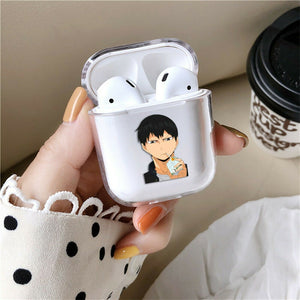 Anime Haikyu!! Silicone Case for AirPods 1 2 3 Pro gel clear cover SN 193