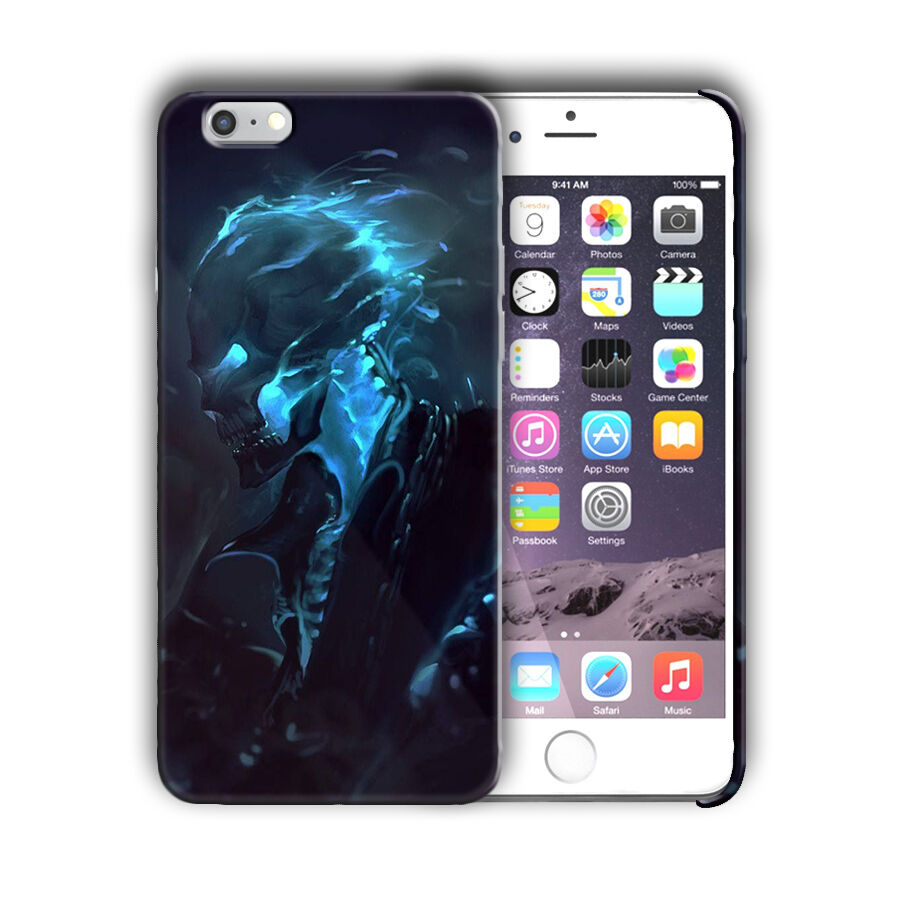 Super Hero Ghost Rider Iphone 4 4s 5 5s 5c SE 6 6s 7 8 X XS Max XR Plus Case n1