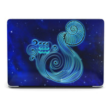 Load image into Gallery viewer, Horoscope Aquarius MacBook case for Mac Air Pro M1 13 16 Cover Skin SN204
