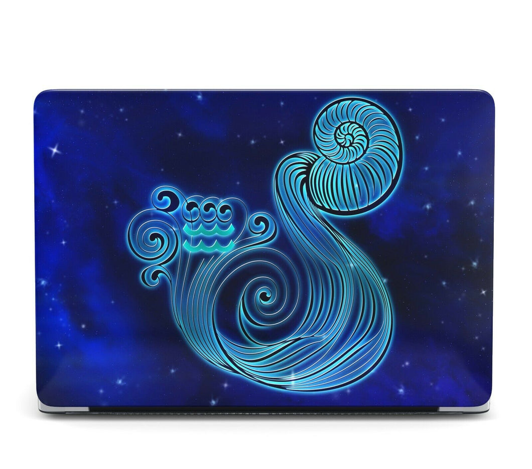 Horoscope Aquarius MacBook case for Mac Air Pro M1 13 16 Cover Skin SN204
