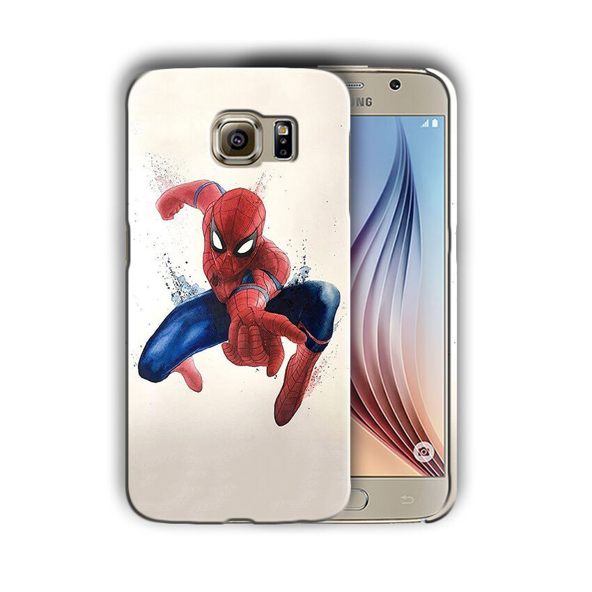 Super Hero Spider-Man Samsung Galaxy S4 S5 S6 S7 S8 Edge Note 3 4 5 Plus Case 13