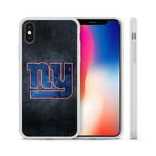 Load image into Gallery viewer, New York Giants TPU bumper case cover for iphone X XS Max XR 5 6 7 8 plus