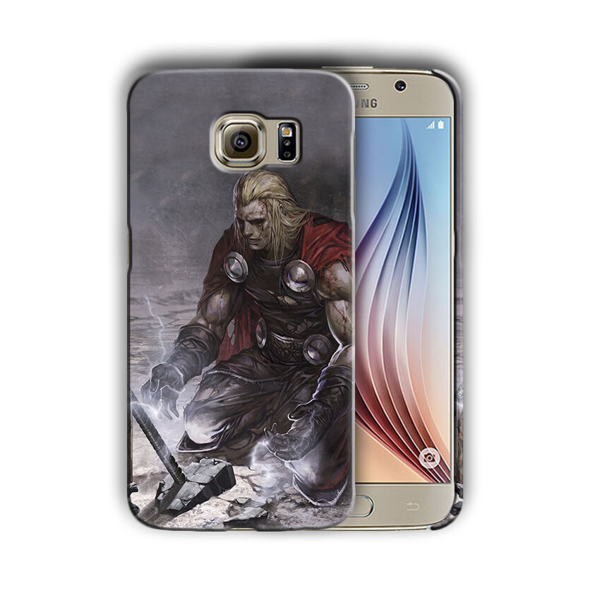 Super Hero Thor Samsung Galaxy S4 S5 S6 S7 S8 Edge Note 3 4 5 Plus Case n10
