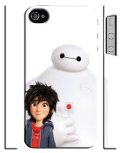 Load image into Gallery viewer, Iphone 4 4s 5 5s 5c 6 7 8 X XS Max XR Plus Case Big Hero 6 Baymax Cartoon Robot