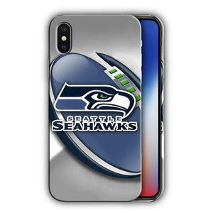 Seattle Seahawks Case for Iphone XR X XS 11 Pro Max Plus other models Cover n8
