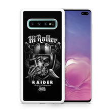Load image into Gallery viewer, Oakland Raiders TPU bumper case for Galaxy S10 E S9 plus S8 S7 S6 S5 note 5 8 9