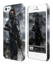 Load image into Gallery viewer, Civil War Winter Soldier Iphone 4s 5 5s 5c 6 6S 7 8 X XS Max XR Plus Case