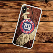 Load image into Gallery viewer, Rubber bumper case New York Giants for iphone 5 6 7 8 plus X XS Max XR cover