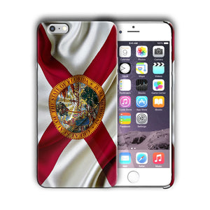Florida State Flag Iphone 4s 5 5s 5c SE 6 6s 7 8 X XS Max XR Plus Case Cover 01