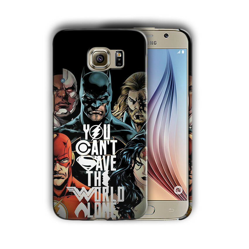 Justice League Batman Samsung Galaxy S4 5 6 7 8 Edge Note 3 4 5 8 Plus Case 2