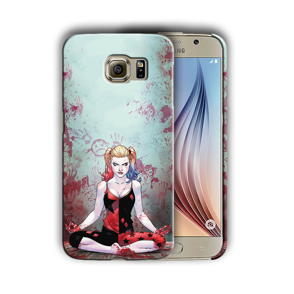 Harley Quinn Samsung Galaxy S4 5 6 7 8 9 10 E Edge Note 3 - 10 Plus Case n11