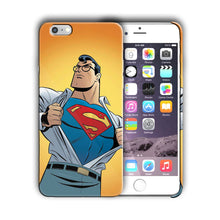 Load image into Gallery viewer, Super Hero Superman Iphone 4s 5 SE 6 6s 7 8 X XS Max XR 11 Pro Plus Case n5