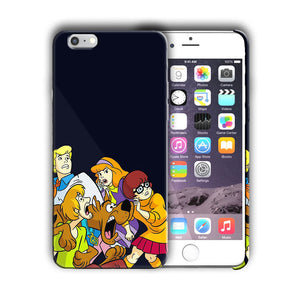 Scooby-Doo Anime Iphone 4 4s 5 5s 5c SE 6 6s 7 8 X XS Max XR Plus Case Cover 1