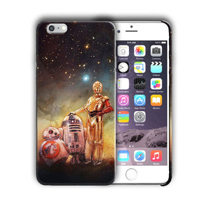 Star Wars C3PO BB-8 R2D2 Iphone 4s 5 SE 6 7 8 X XS Max XR 11 Pro Plus Case n9