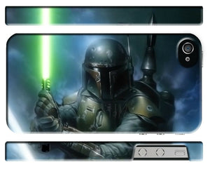 Star Wars 2015 Boba Fett Iphone 4 4s 5 5s 5c 6 6S 7 + Plus Case Cover