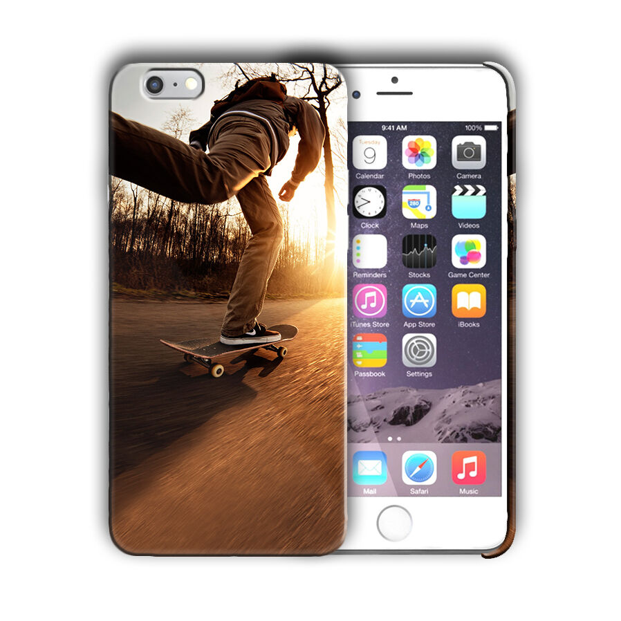 Extreme Sports Skateboarding Iphone 4 4s 5 5s 5c SE 6 6s 7 + Plus Case Cover 10